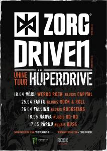 Zorg & Driven ühine tuur 2014
